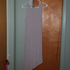 Express casual striped dress